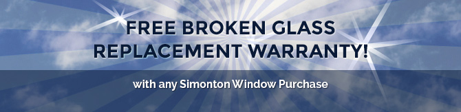 free broken glass replacement warranty