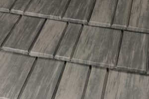 Weathered Cedar Premium Steel Shingle