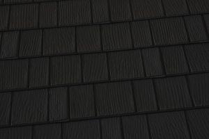 Black Onyx Premium Steel Shingle