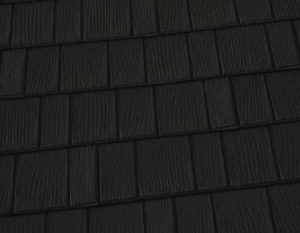 Black Onyx Premium Steel Shingle