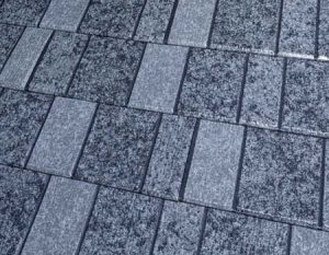Cinder Gray Premium Steel Shingle