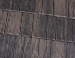 Weathered Cedar Premium Steel Shingle