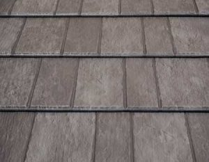 Gray Slate Rock Premium Steel Shingle
