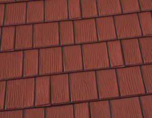 Mission Red Premium Steel Shingle