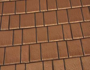Copper Penny Premium Steel Shingle