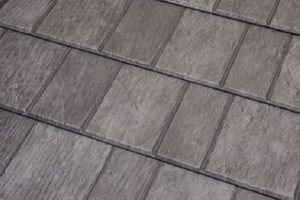 Slate Rock Gray Premium Steel Shingle